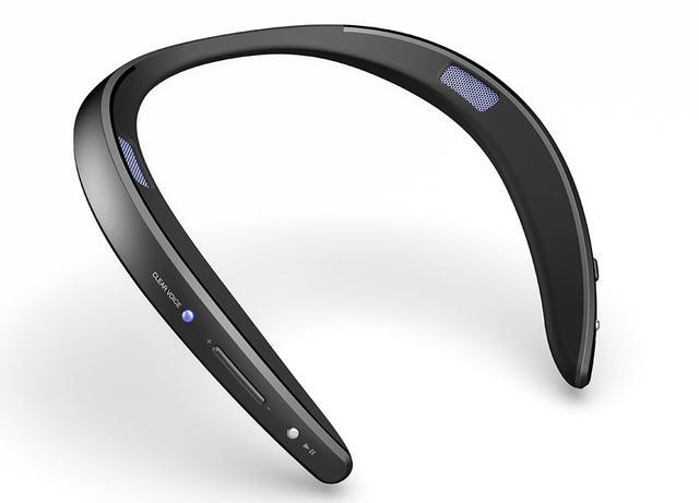 画像: 首掛けスピーカーのAQUOSサウンドパートナーに生活防水の「AN-SS2」が加わる。BluetoothコーデックのaptX LLにも対応し、映像と音のズレによる違和感も解消