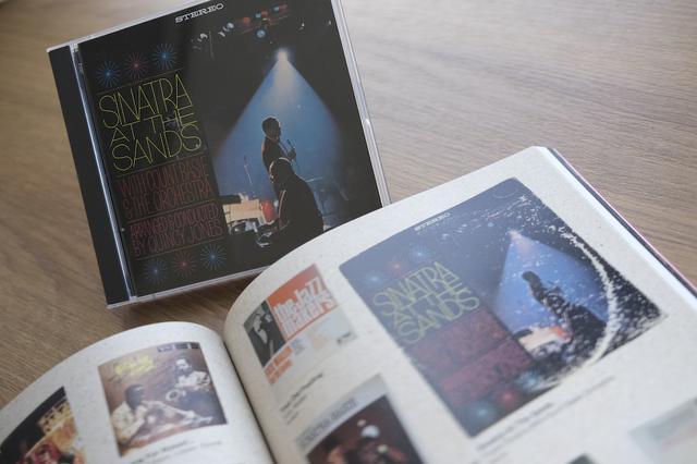 画像: フランク・シナトラ・ウィズ・カウント・ベイシー・オーケストラ 『シナトラ・ライヴ・アット・ザ・サンズ』 www.stereosound-store.jp
