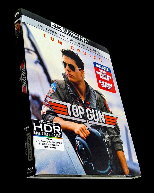 画像: 4K UHD BLU-RAY レビュー『トップガン』トニー・スコット監督【世界4K-Hakken伝】