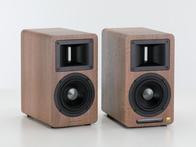 画像1: 超弩級オールホーン型スピーカー、エアーパルス3.1設計者の最新小型機 『A80』【Stereo Sound・SOUND SCOPE】