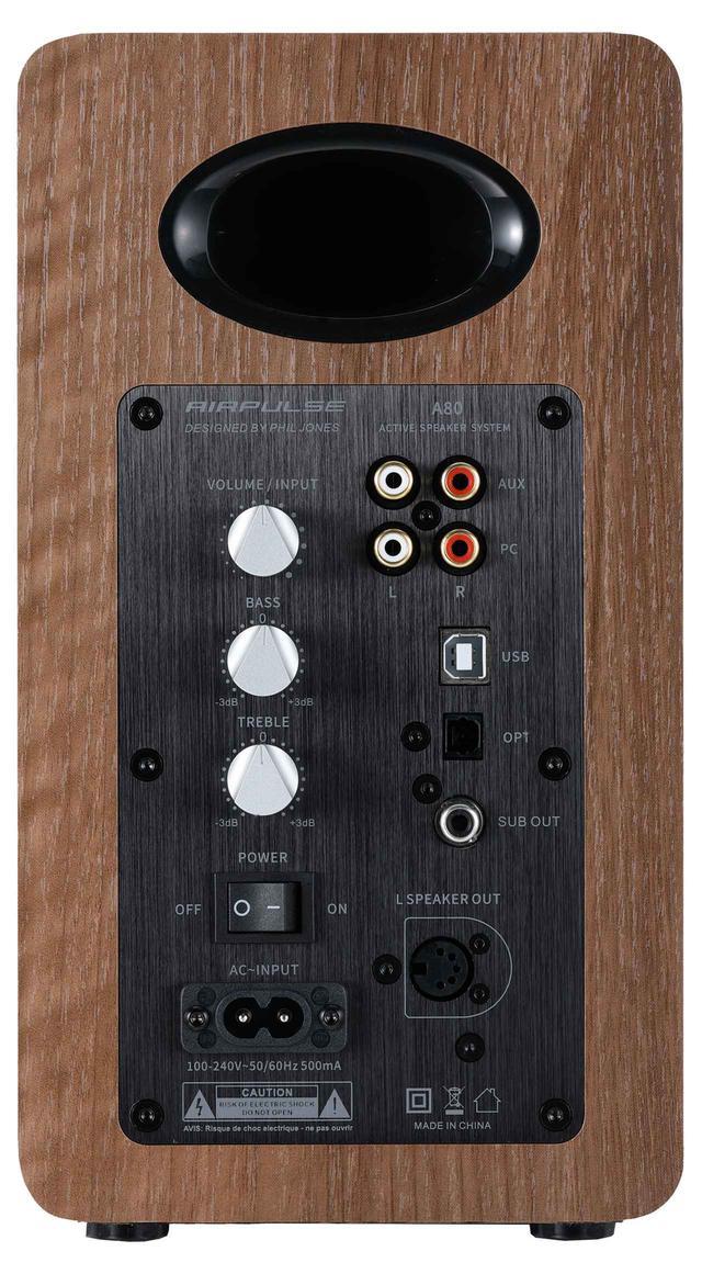 画像2: 超弩級オールホーン型スピーカー、エアーパルス3.1設計者の最新小型機 『A80』【Stereo Sound・SOUND SCOPE】