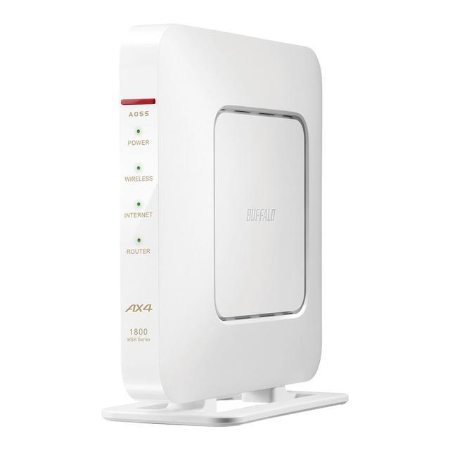 画像3: バッファロー、Wi-Fi 6対応のWi-Fiルーター「WXR-5700AX7S」を8月下旬に発売。10Gポート対応、4アンテナ搭載のゲーミング仕様