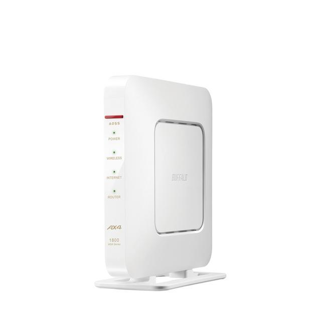 画像: WSR-1800AX4-WH : Wi-Fiルーター : AirStation | バッファロー