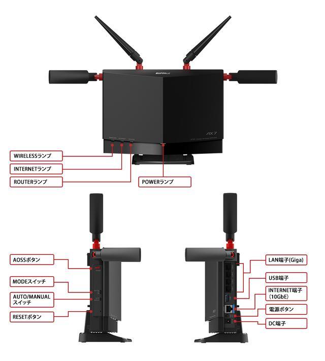 画像: WXR-5700AX7S : Wi-Fiルーター : AirStation | バッファロー