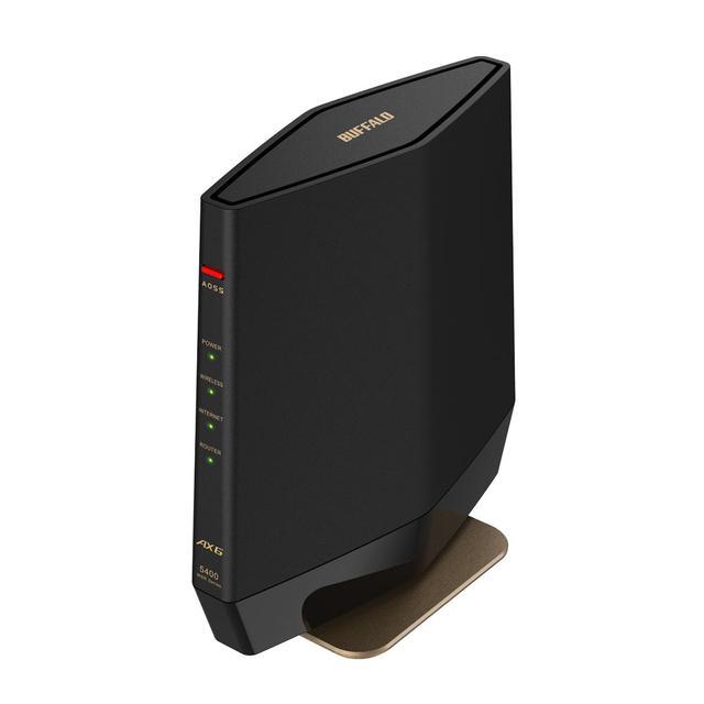 画像2: バッファロー、Wi-Fi 6対応のWi-Fiルーター「WXR-5700AX7S」を8月下旬に発売。10Gポート対応、4アンテナ搭載のゲーミング仕様