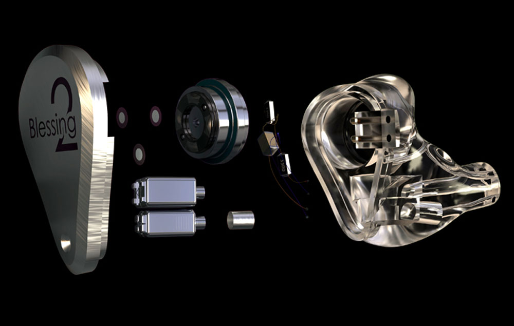画像2: 水月雨、5ドライバー搭載の有線イヤホン「Blessing2」、6月19日に発売。量感のある低域から、クリアな高域までバランスよく楽しめる