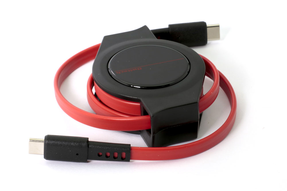 画像2: オウルテック、持ち運びに便利なUSB Type-Cケーブル、巻き取り式、Lightningコネクター対応など、全4種類を6月17日より発売
