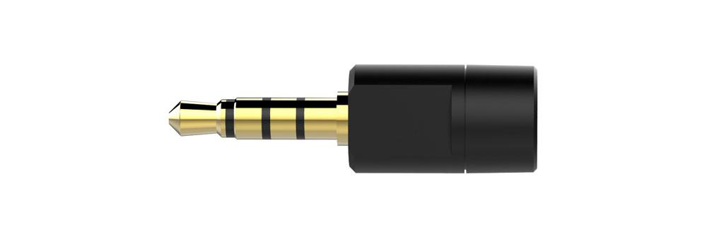 画像: 付属のアナログマイク。例えばPS4コントローラーのヘッドセット端子に接続して使う