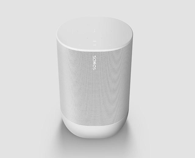 画像: Sonosから、ポータブルスピーカーの人気モデル「Sonos Move」に新色ルナーホワイトが登場! お気に入りのカラーでパワフルなサウンドを楽しむ
