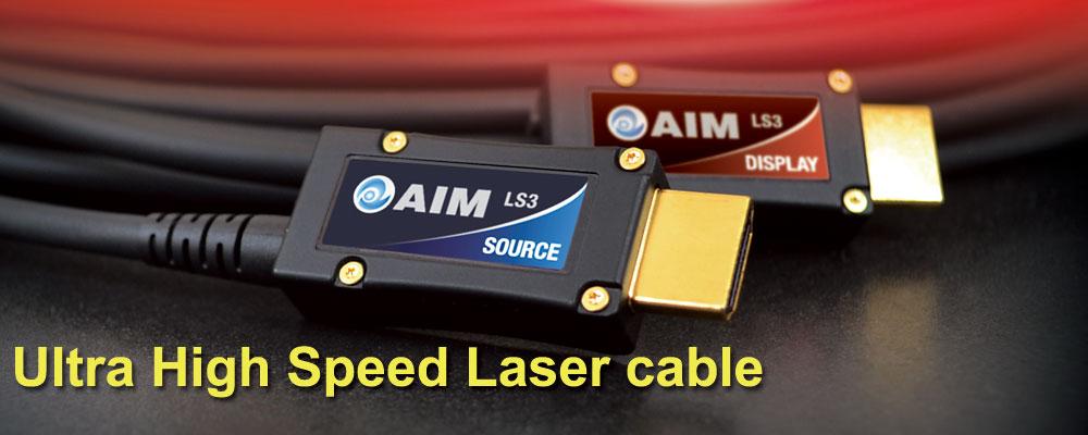 画像: ウルトラハイスピードレーザーケーブル [LS3] | AIM電子 - オーディオ & ヴィジュアル製品