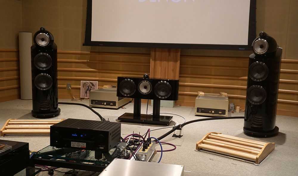 画像: デノンの試聴室でドルビーアトモスやオーロ3Dのデモも体験した