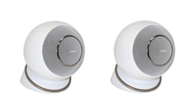 画像: オンキヨーデジタルソリューションズ、Cabasseの小型スピーカー「EOLE4」を10月末に発売。壁掛け、天井埋め込みにも対応し、メインからサテライト用途まで自在に設置可能なスタイリッシュな製品 - Stereo Sound ONLINE