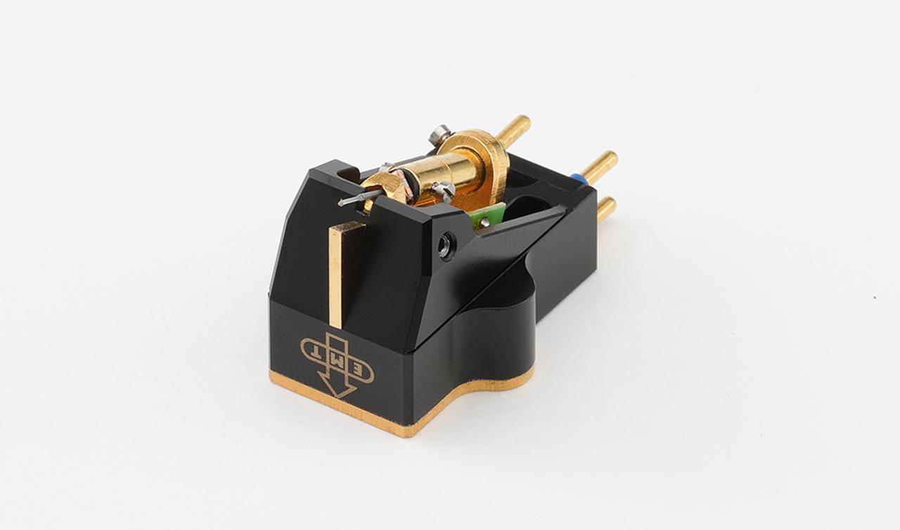 画像1: 音楽表現はプロ級の貫禄。MC型カートリッジ・EMT JSD Pure Black