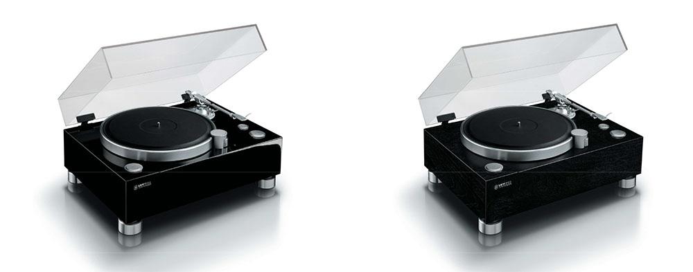 画像: DCV-5000を装着した様子。左は「GT-5000(BP)」で、右は「GT-5000(B)」との組み合わせ