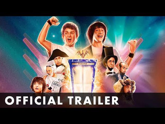 画像: BILL AND TED'S EXCELLENT ADVENTURE - Official Trailer - Starring Keanu Reeves & Alex Winter youtu.be