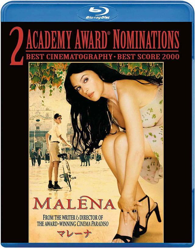 画像: 2013年に発売された『マレーナ』のブルーレイ
