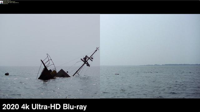画像: Jaws - 4k/Blu-ray Comparison www.youtube.com
