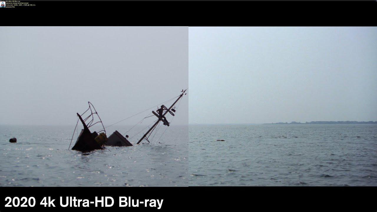 画像: Jaws - 4k/Blu-ray Comparison www.youtube.com