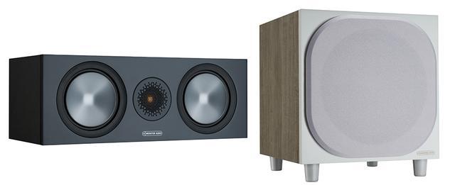 画像: 左が「BRONZE C150-6G」のブラックで、右は「BRONZE W10-6G」のホワイト