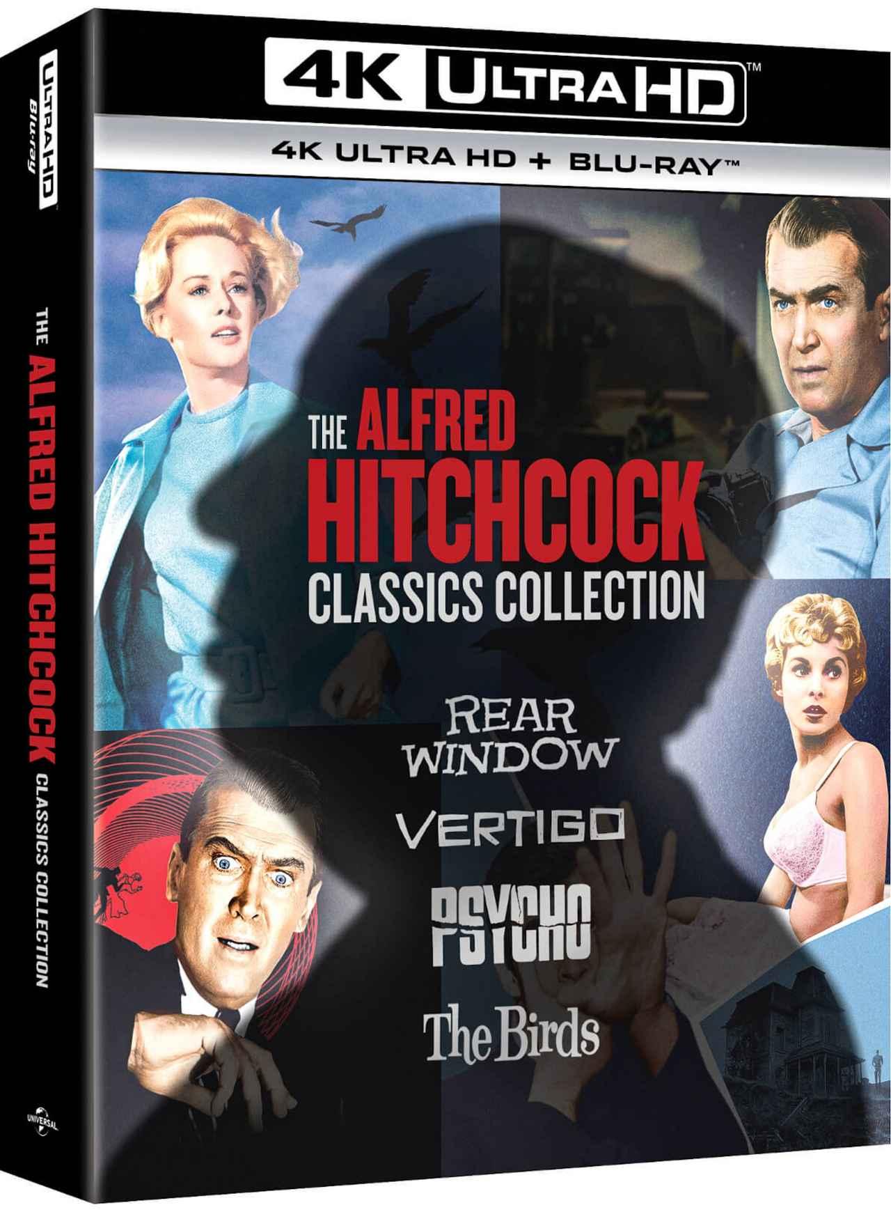 画像1: 4Kレストア&DTS:Xで登場『アルフレッド・ヒッチコック・クラシックス・コレクション』【海外盤Blu-ray発売情報】