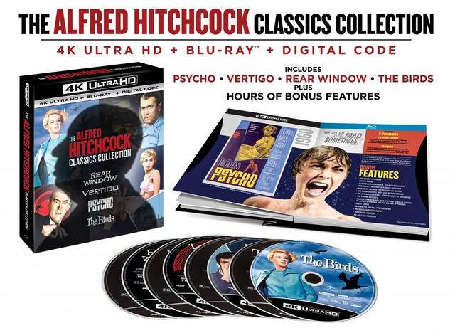 画像: THE ALFRED HITCHCOCK CLASSICS COLLECTION- 4K UHD BLU-RAY with DTS:X