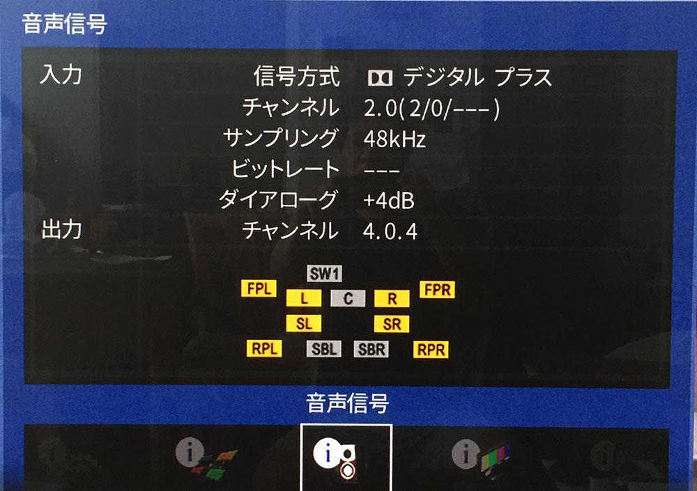 画像: 体験動画の音声は、ドルビーデジタルプラスの2chで、サンプリング周波数は48kHzだった。圧縮フォーマットはFire TV Stick 4K側で変換していると思われる