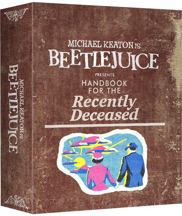 画像: LIMITED EDITION GIFT-BOX SET INCLUDES Beetlejuice 4K UHD Beetlejuice Poster Glow In The Dark Embroidered Patch Collectable Chalk