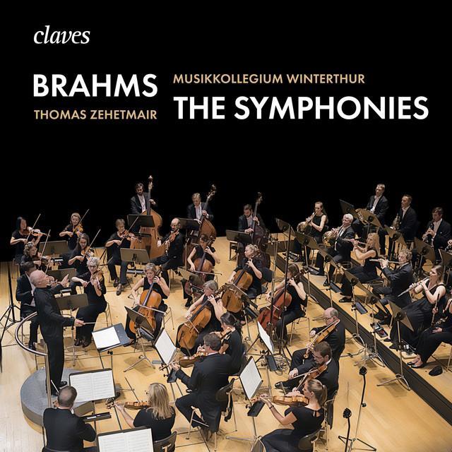画像: ブラームス:交響曲全集 - ヴィンタートゥール・ムジークコレギウム/トーマス・ツェートマイアー/Musikkollegium Winterthur, Thomas Zehetmair