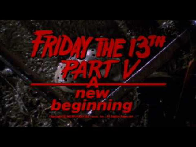 画像: Friday The 13th, Part V: A New Beginning (1985) Theatrical Trailer www.youtube.com