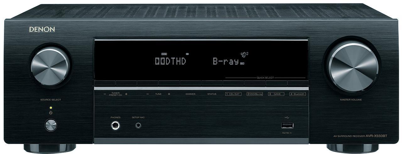 画像1: 第4位:デノン AVR-X550BT