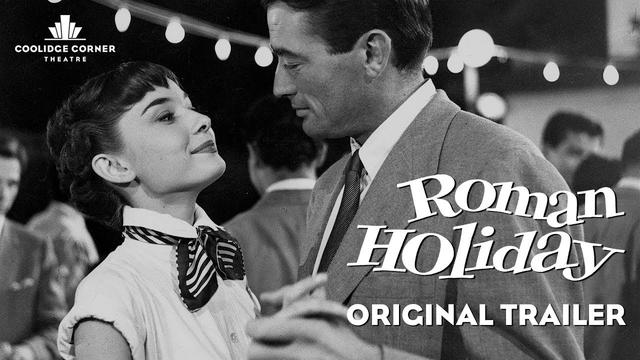 画像: Roman Holiday | Original Trailer [HD] | Coolidge Corner Theatre www.youtube.com