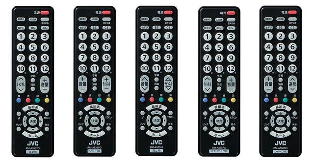 画像1: 離れて暮らす家族の安否をテレビのリモコンが知らせてくれる。JVCから、簡単リモコン&みまもり電池のパッケージ5モデルが登場。特別な機器や工事不要でみまもりサービスが利用可能に
