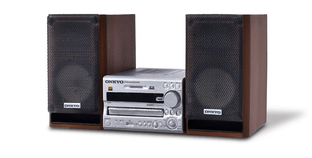 画像5: オンキヨー歴代のオーディオ機器がミニチュアで揃う! しかも動く!! カセットが取り出せるダブルカセット「TA-W880」ほか、全5モデルをラインナップ。8月18日に発売