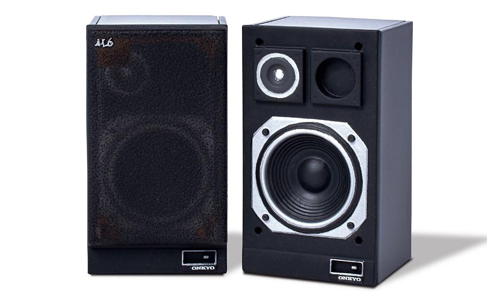 画像1: オンキヨー歴代のオーディオ機器がミニチュアで揃う! しかも動く!! カセットが取り出せるダブルカセット「TA-W880」ほか、全5モデルをラインナップ。8月18日に発売