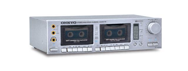 画像4: オンキヨー歴代のオーディオ機器がミニチュアで揃う! しかも動く!! カセットが取り出せるダブルカセット「TA-W880」ほか、全5モデルをラインナップ。8月18日に発売