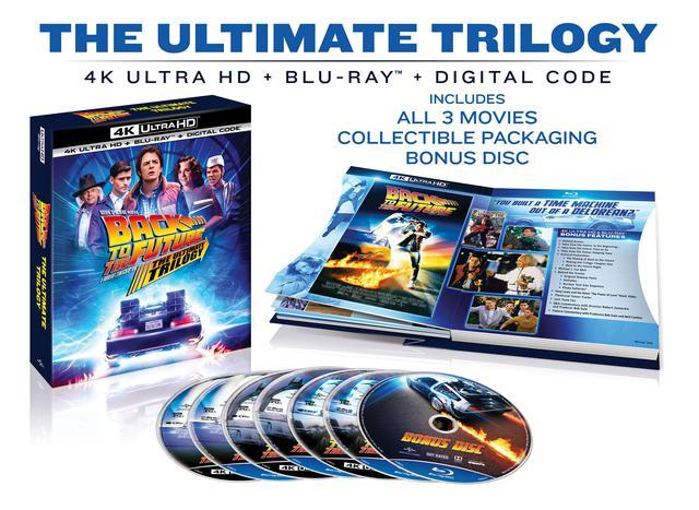 画像: BACK TO THE FUTURE:THE ULTIMATE TRILOGY include all three movies in collectible discbook packaging plus a bonus disc including all-new bonus content