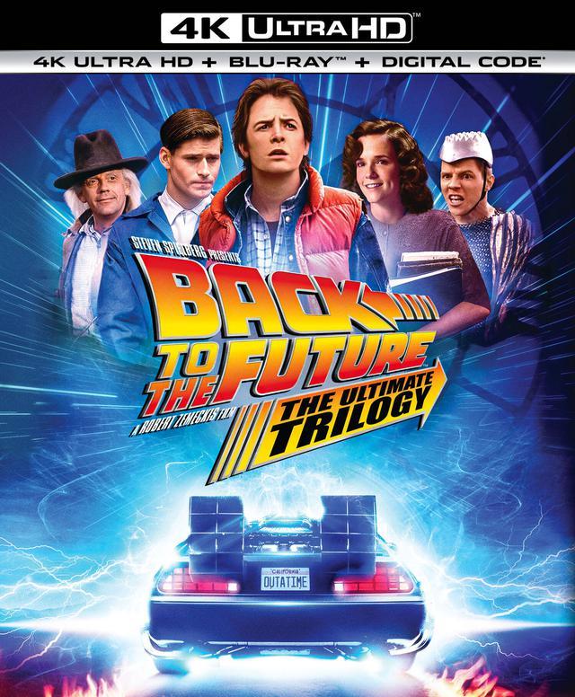 画像1: 豪華仕様で待望の4Kリリース!『バック・トゥ・ザ・フューチャー・トリロジー』【海外盤Blu-ray発売情報】