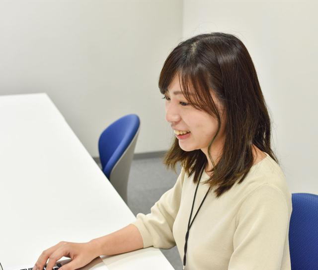 画像: 株式会社デジオン マーケティング部 マーケターの迫田鈴菜さん