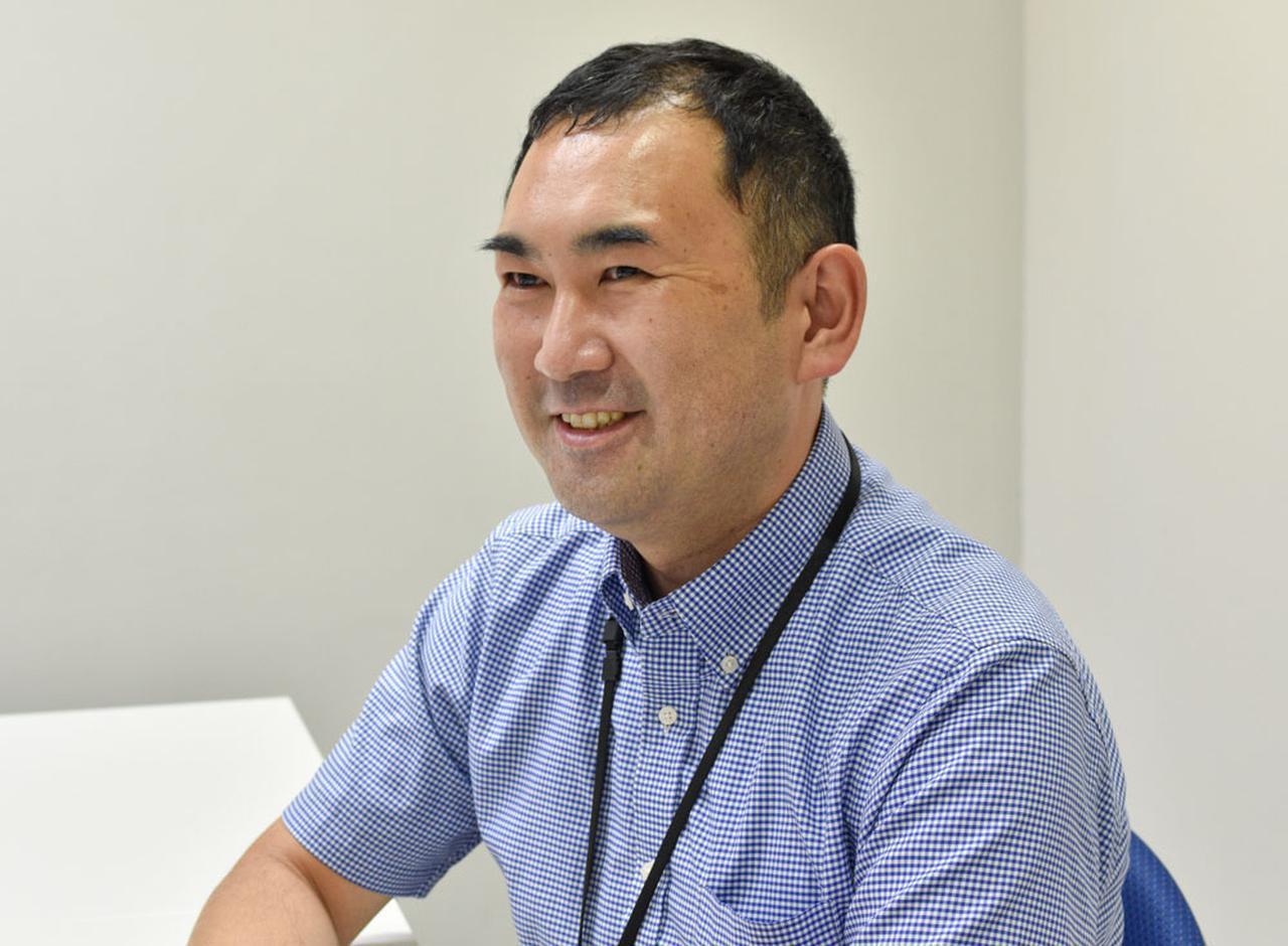画像: 株式会社デジオン 開発部門 部門長の山崎 清さん