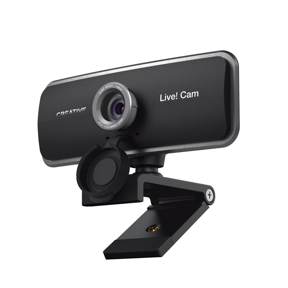 画像: クリエイティブメディア、オンライン会議に便利なデュアルマイク内蔵フルHD仕様のwebカメラ「Creative Live! Cam Sync 1080p」を発売