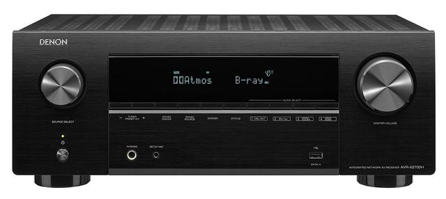 画像1: 8K映像対応のHDMI入出力を搭載したデノンの入門機「AVR-X2700H」は9月16日に発売決定。価格¥90,000で、上位機譲りの最新スペックを搭載する