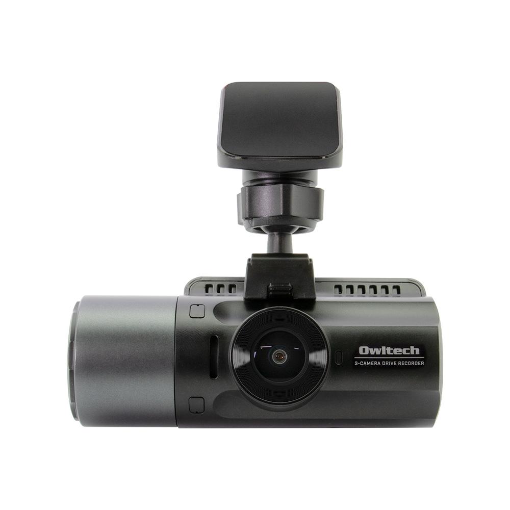画像: 車の前後・車内の3カメラ同時録画 夜間に強い高画質ドライブレコーダー OWL-DR803FG-3C | 株式会社オウルテック