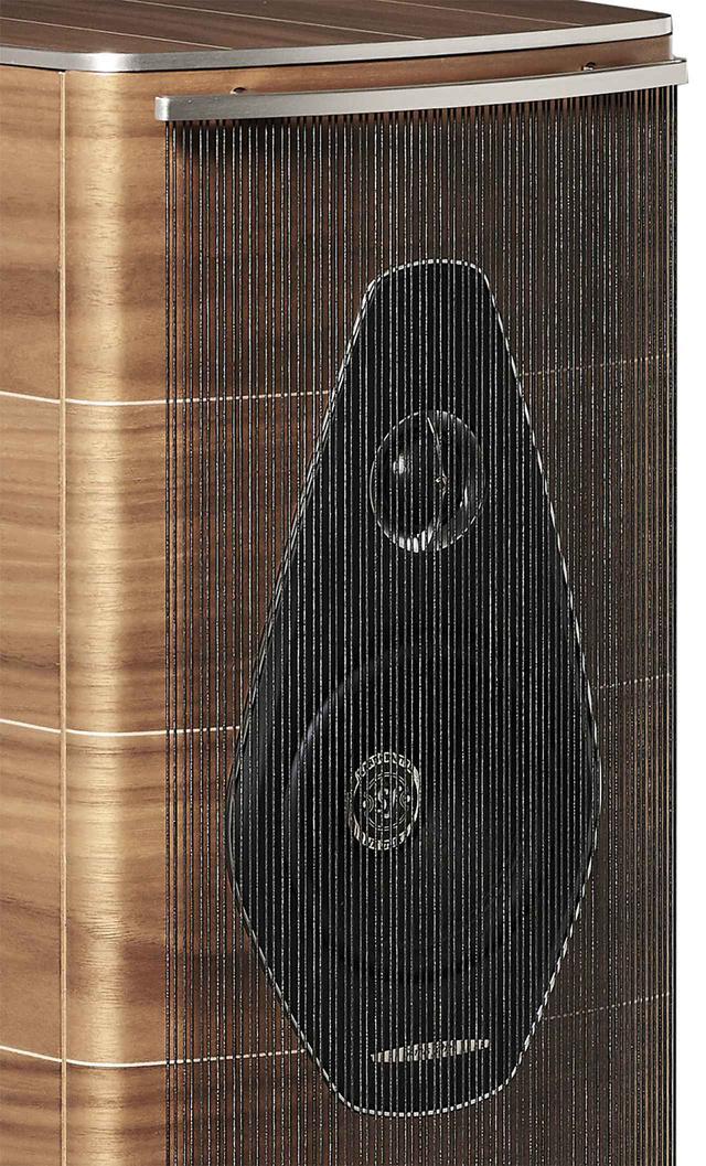 画像: ゴム製のストリング・グリルを装着すると、よりいっそう優美な表情をあらわにする