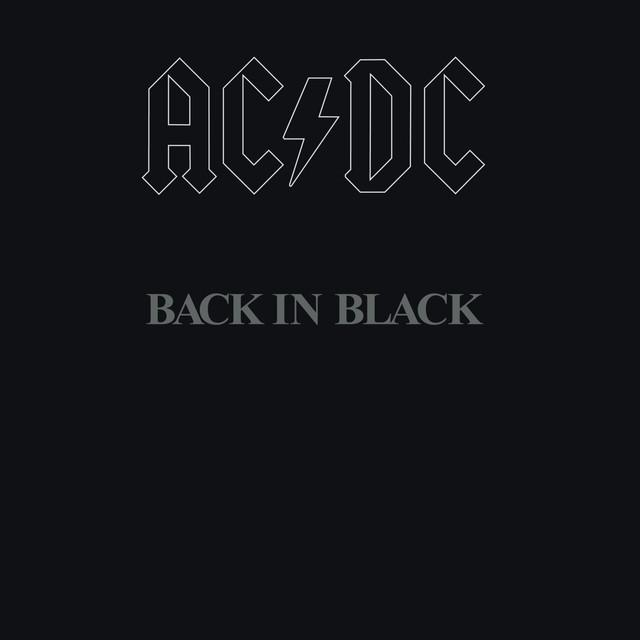 画像: Back In Black/AC/DC