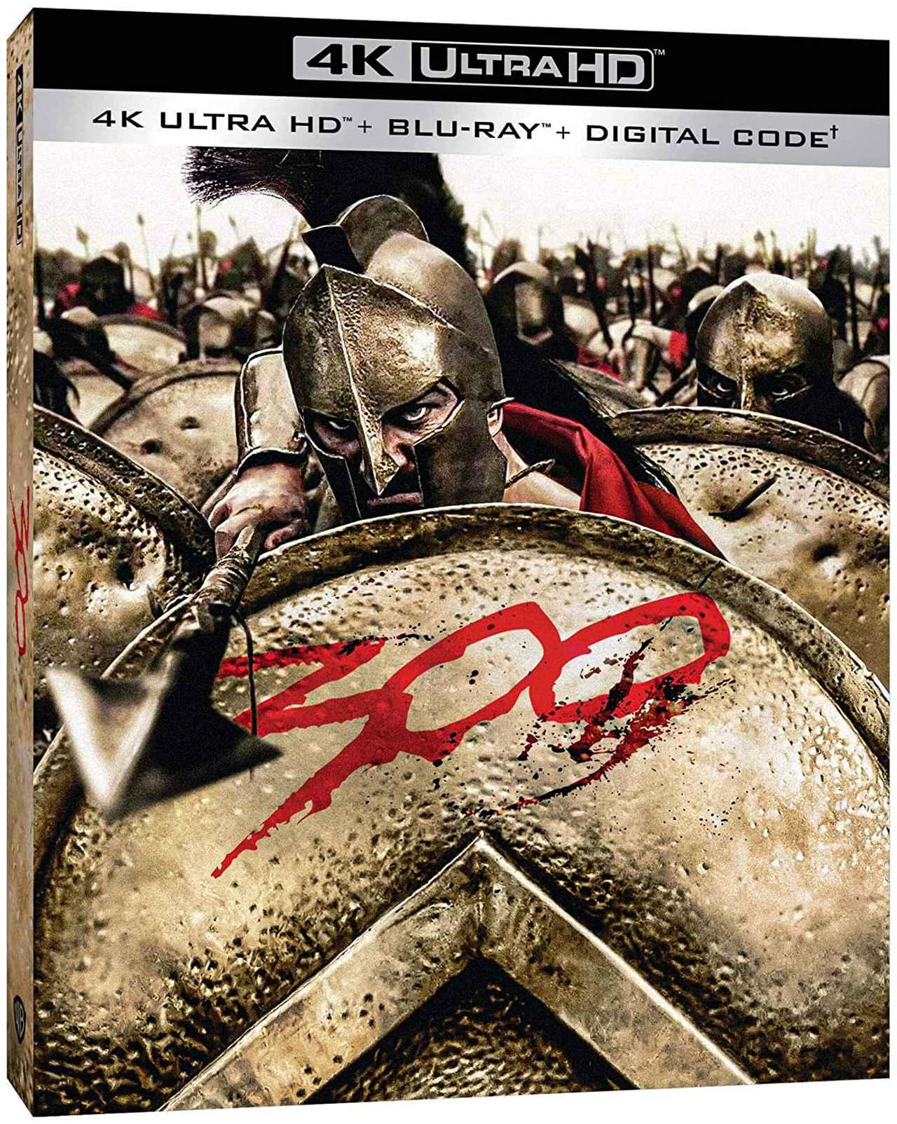 画像1: 4K&アトモスで楽しむ『300 <スリーハンドレッド>』【海外盤Blu-ray発売情報】