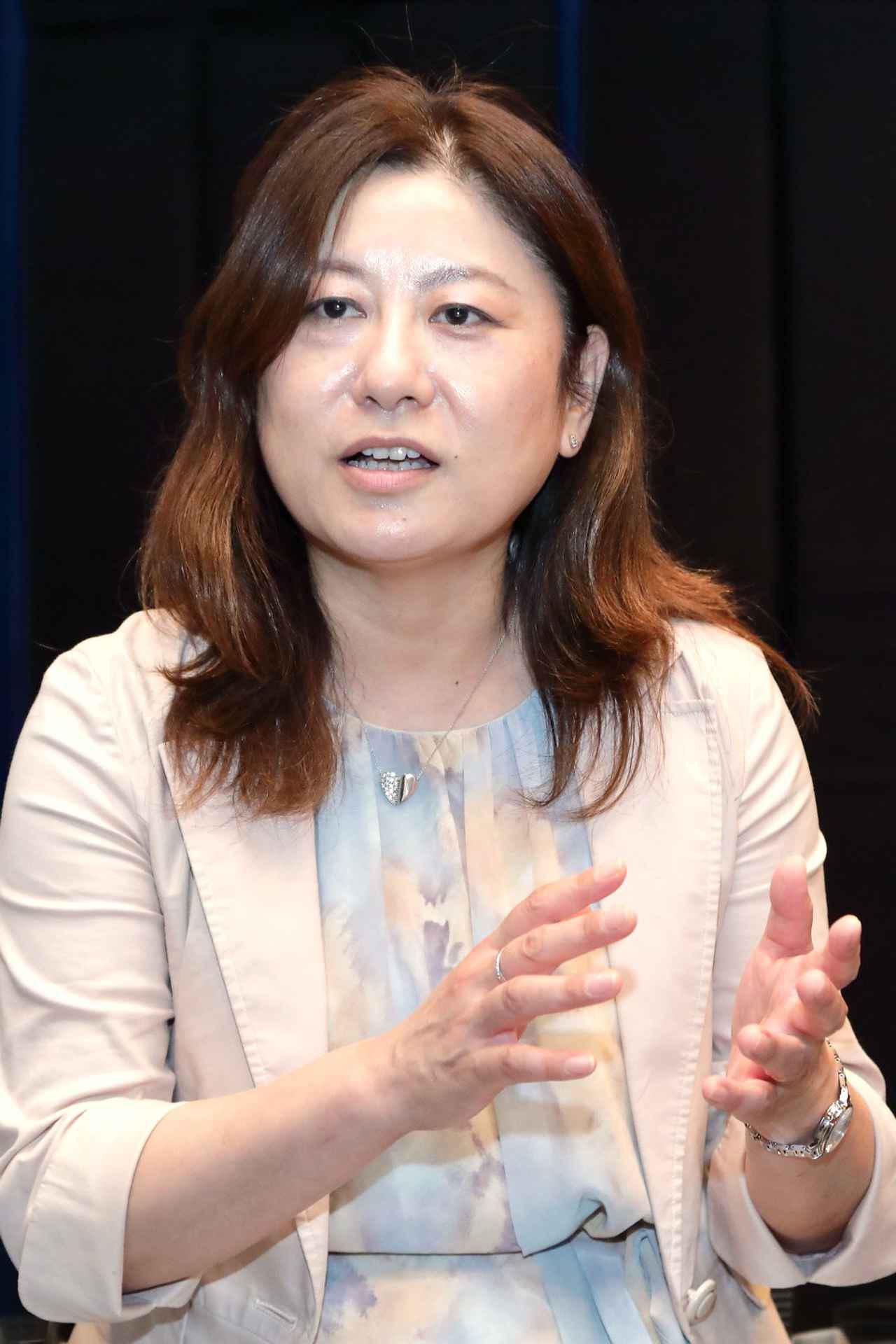 画像: 市場企画部 コミュニケーショングループ アシスタントマネージャー 早川厚子さん