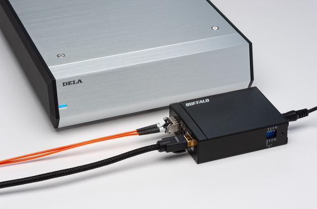 画像2: AVファンも光LAN接続に注目!明確な画質/音質の向上効果をもたらす「DELA OP-S100」