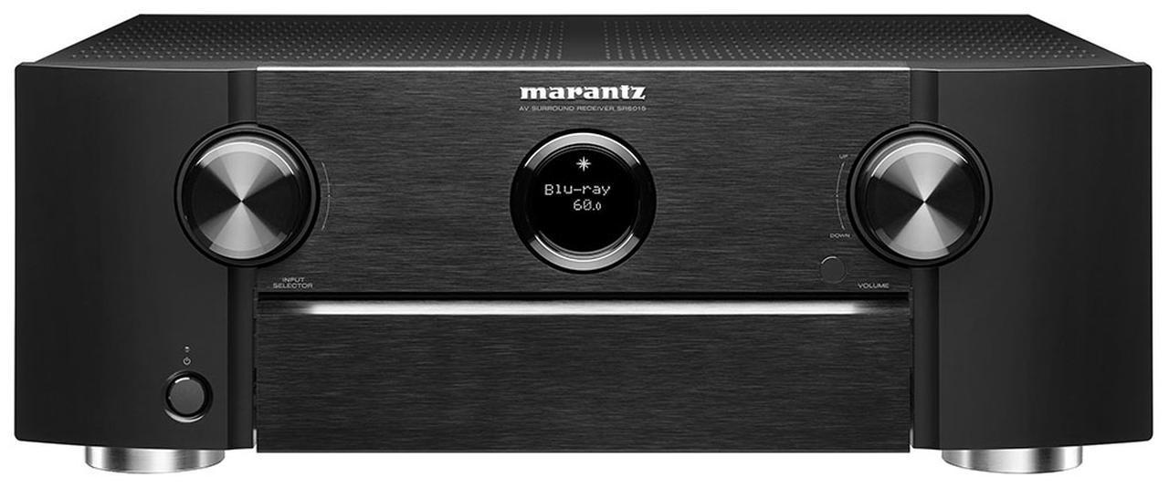 画像1: マランツの、8K対応一体型AVセンター第二弾「SR6015」がデビュー。9chフルディスクリートパワーアンプ内蔵で、ドルビーアトモス、DTS:Xも楽しめる