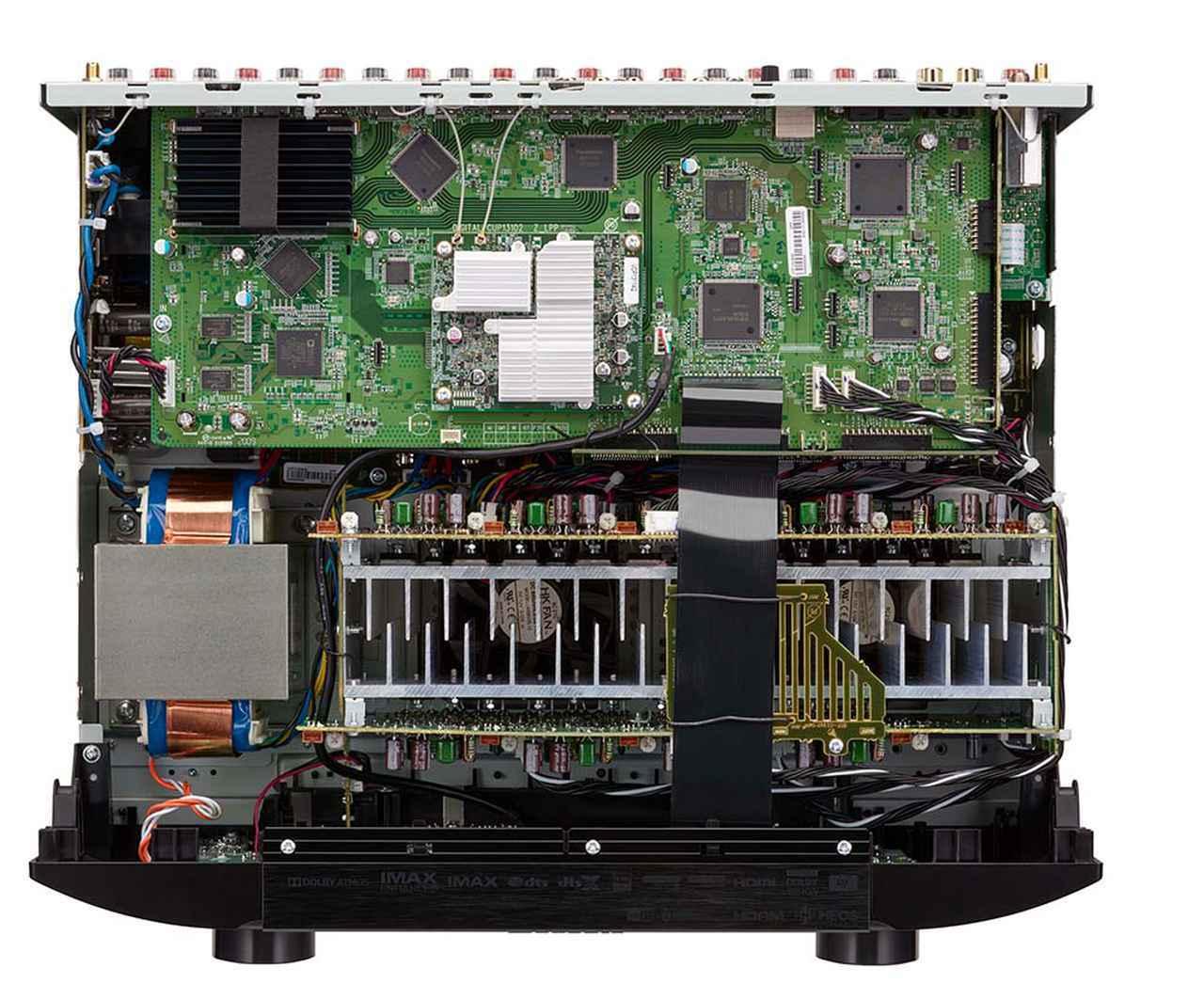 画像2: マランツの、8K対応一体型AVセンター第二弾「SR6015」がデビュー。9chフルディスクリートパワーアンプ内蔵で、ドルビーアトモス、DTS:Xも楽しめる