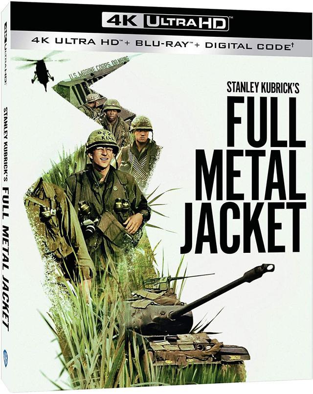 画像1: 《UPDATE》4Kキューブリック第3弾『フルメタル・ジャケット』【海外盤Blu-ray発売情報】